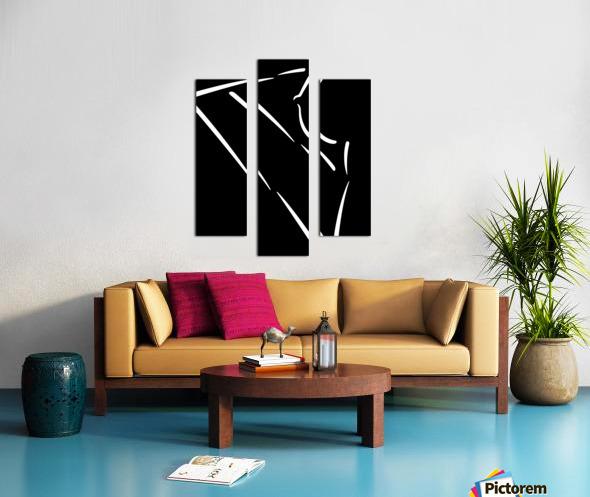 Nude 32 Canvas print