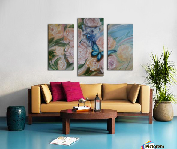 Flowers. Miracle. Canvas print