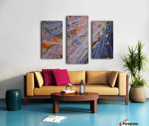 Co-creation Canvas print