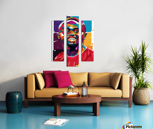 Sadio mane Canvas print