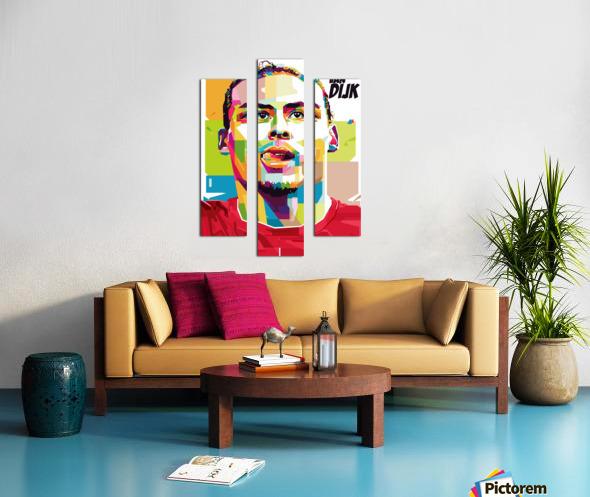 Virgil van dijk Canvas print