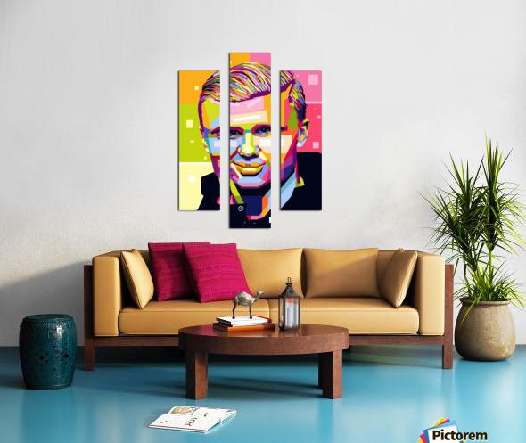 Erling haaland Canvas print