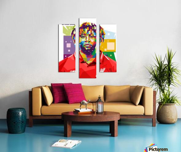 Divock origi Canvas print