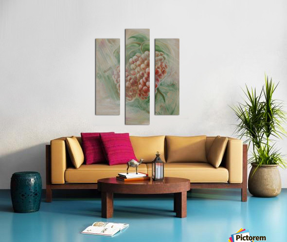Grapes 14 Canvas print