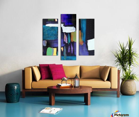 Connections Impression sur toile
