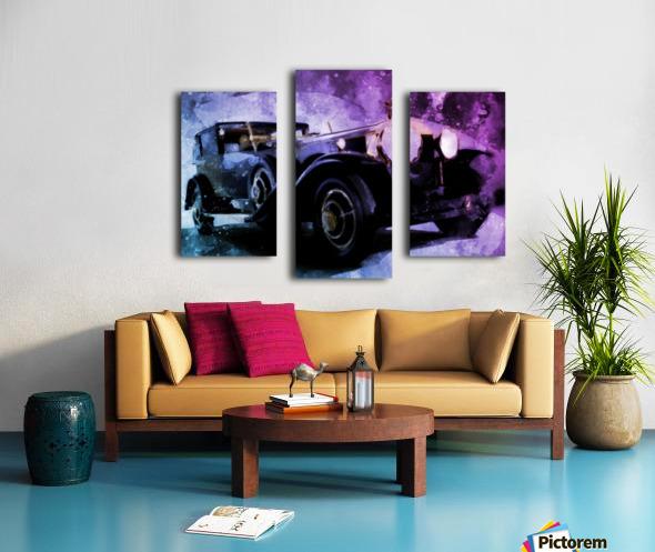 car vintage Canvas print