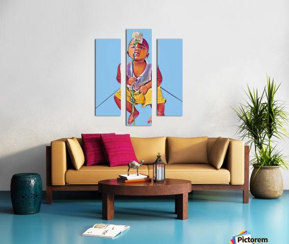 Mr Romantic Impression sur toile