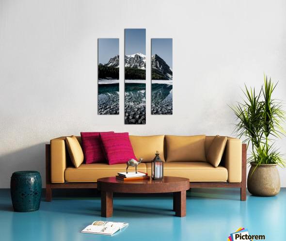 Lake Louise Reflection Canvas print