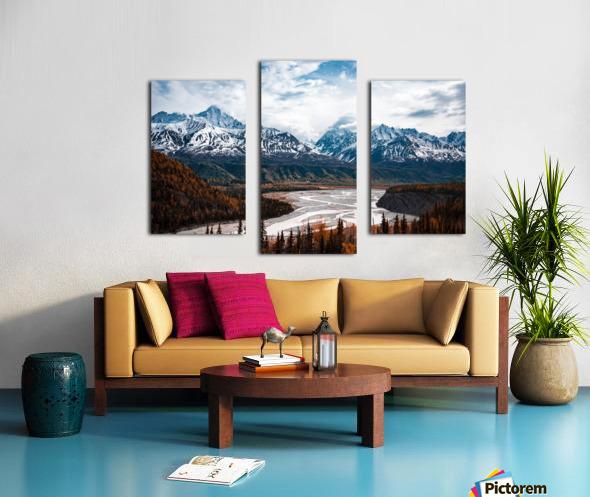 Autumn Landscape Impression sur toile