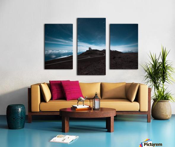 Haleakala at Night Canvas print