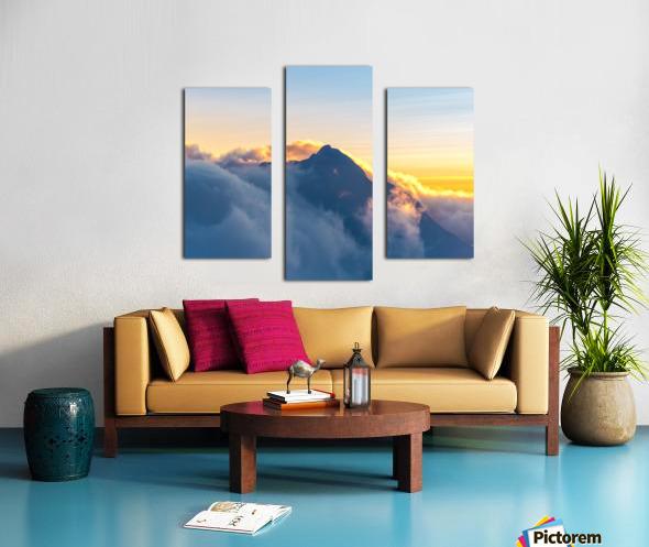 Alpine Glow Canvas print