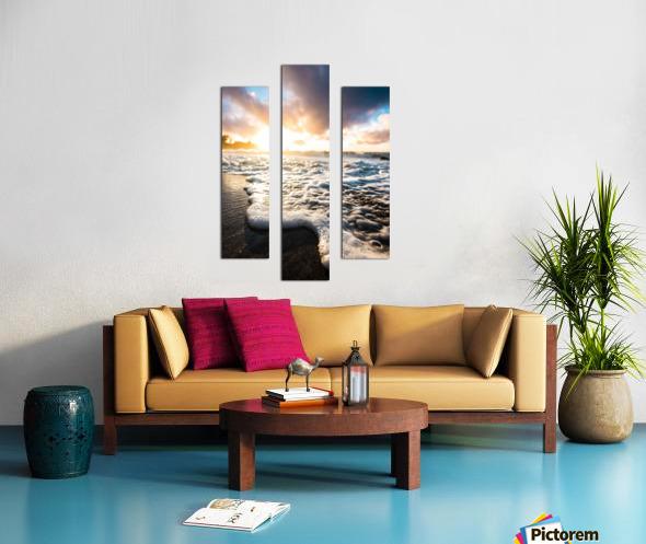 Seafoam Sunrise Canvas print