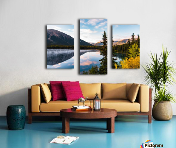 Mountains and Water Canvas print