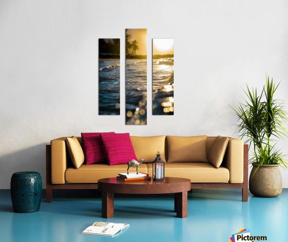 Glistening Waters Canvas print