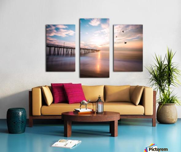 VA Beach Sunrise Canvas print