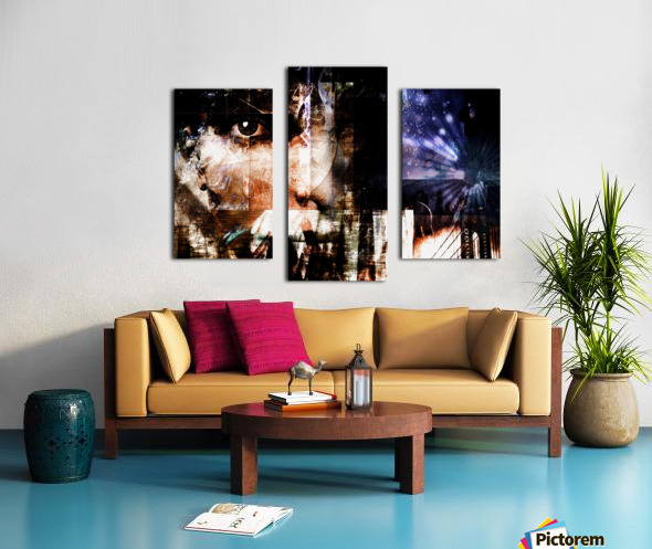 Face Abstract Canvas print