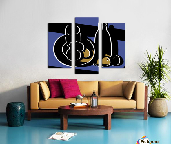 Still Life with a Bottle Canvas print