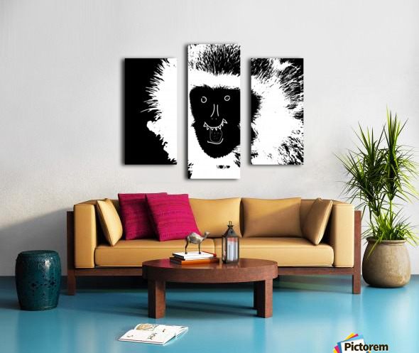 MOMO by dePace Canvas print