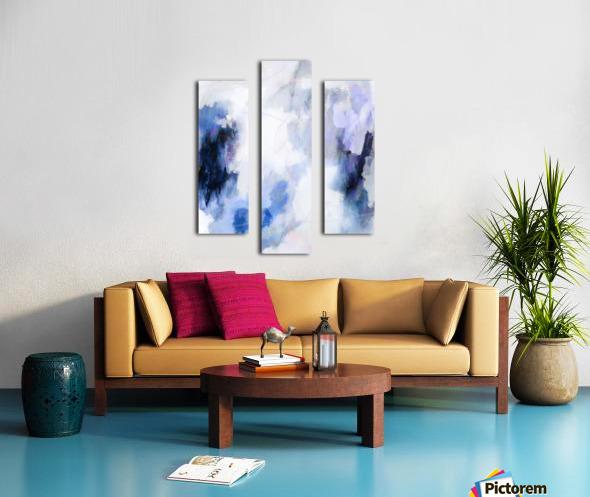 Lavender Cloud Impression sur toile