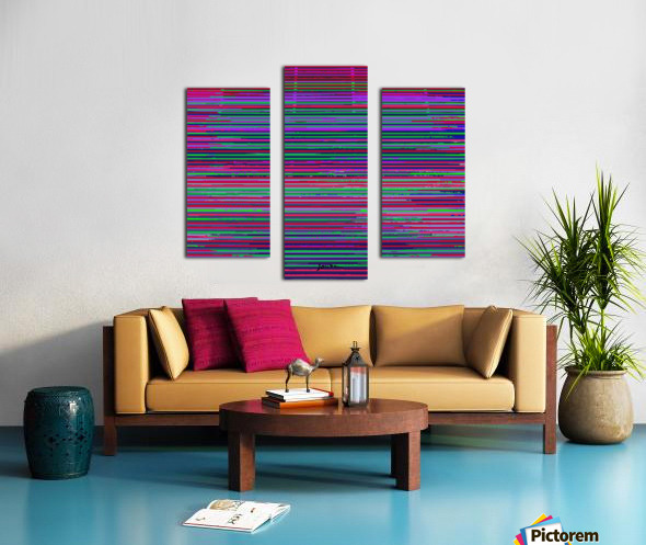 louvers Canvas print