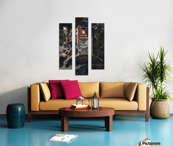 Abandoned Dragon Hotel Canvas print