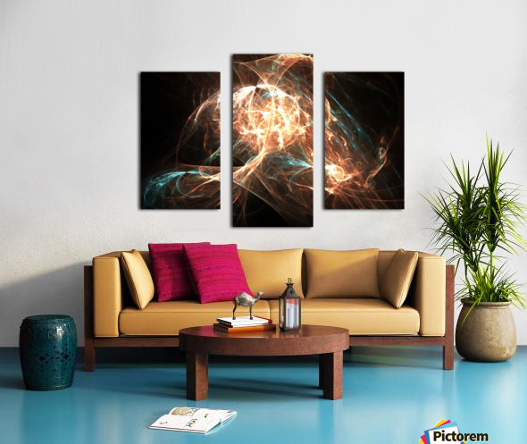 Philosopher Canvas print