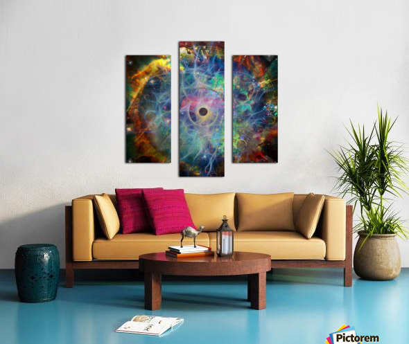 The Eye of Time Canvas print