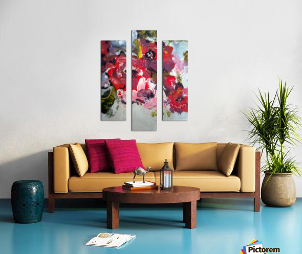 Primary Red1  Canvas print