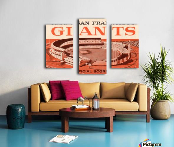 1960 San Francisco Giants Canvas print
