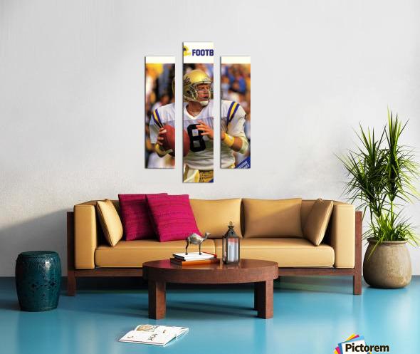 1988 Troy Aikman UCLA Football Poster Canvas print