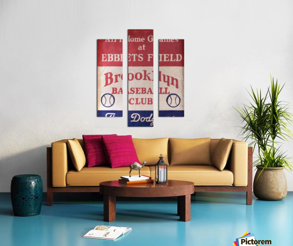 1939 Brooklyn Dodgers Canvas print