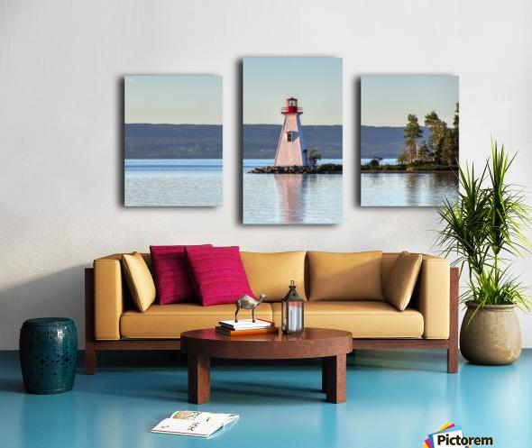 Baddeck Lighthouse Canvas print