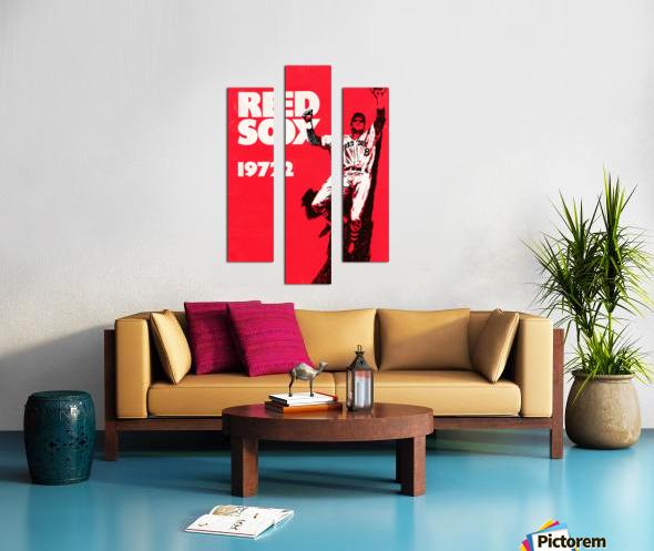 1972_Major League Baseball_Boston Red Sox_Fenway Park_Row One Brand Canvas print