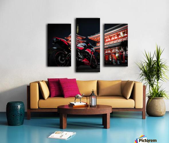 Honda At The Temple Canvas print
