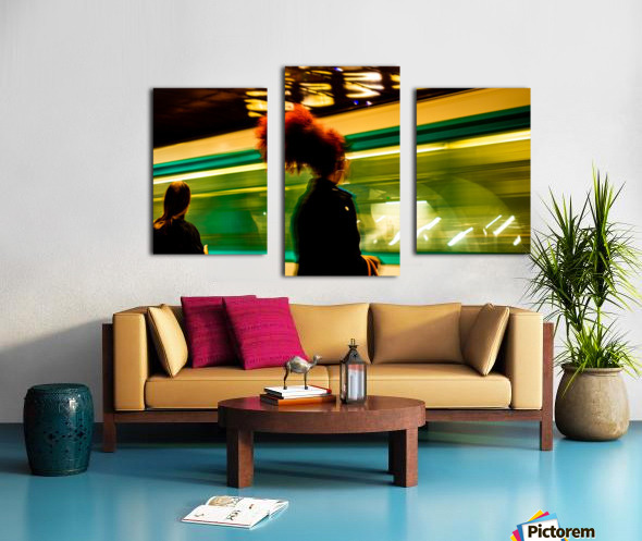 Moments Pass Canvas print