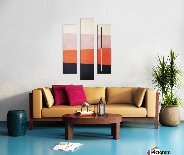 Shapes 06 - Abstract Geometric Art Print Canvas print