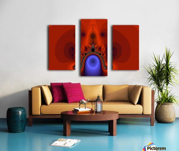 Fractal Pattern 12 Canvas print