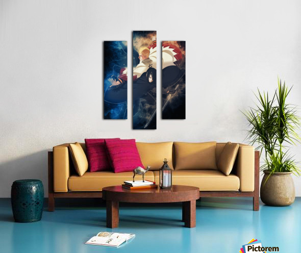 Naruto and Sasuke Canvas print