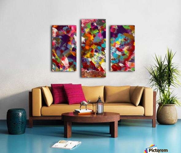 Cosmic Color Canvas print