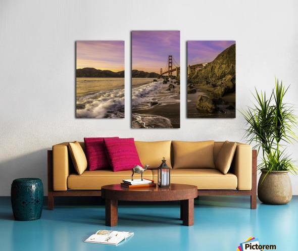 Golden Gate Sunset Canvas print