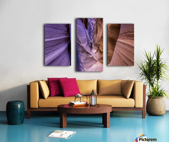 Sandrock Baguette Canvas print