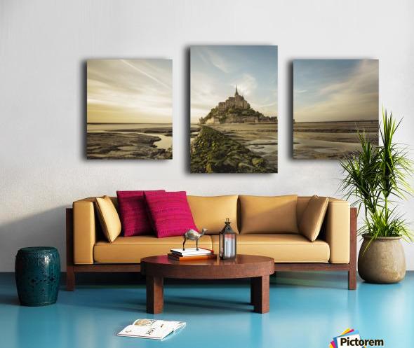 Tides of Normandie Canvas print