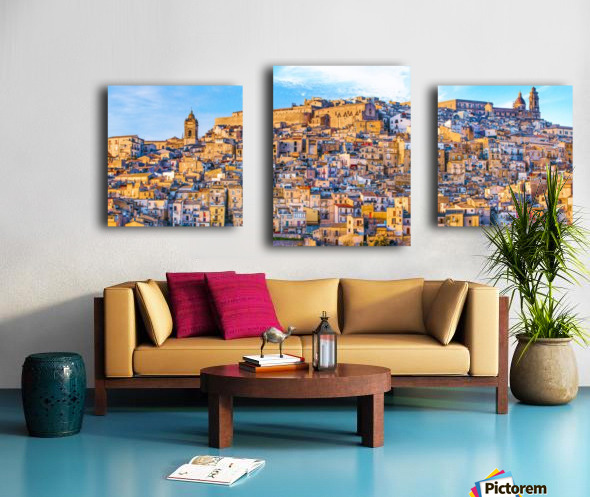 Caltagirone CT Canvas print