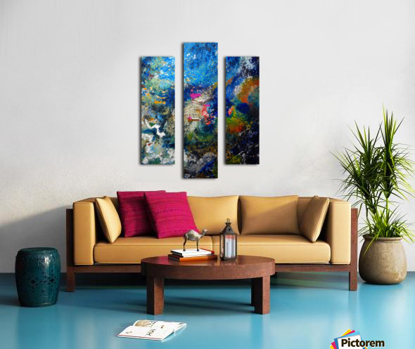 Deep Canvas print