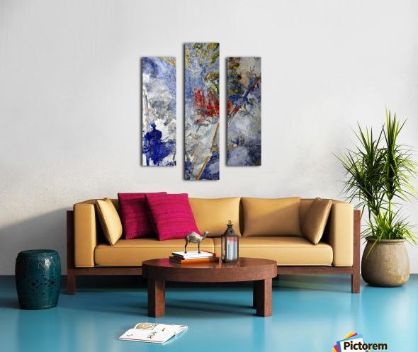 Abstract Single Canvas print