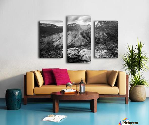 Vale do Pati Brazil Canvas print