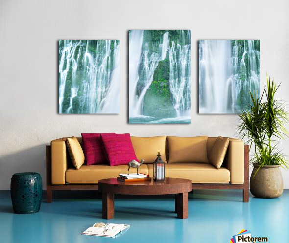 The Flowing Wall Canvas print