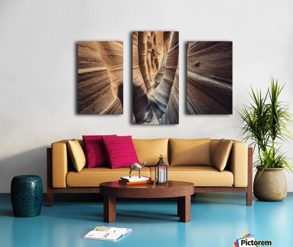 Zebra Slot Canyon II Canvas print
