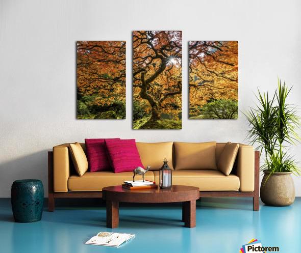 LIFE  H2 Canvas print