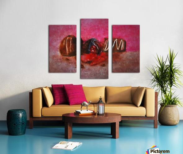 Chocolate Candy Canvas print